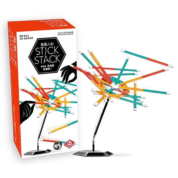 【樂桌遊】C堆疊桌遊-籤籤入扣 Stick Stack