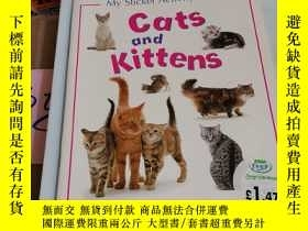 二手書博民逛書店My罕見Sticker Activity Book:Cats and KittensY246305 見圖 見圖