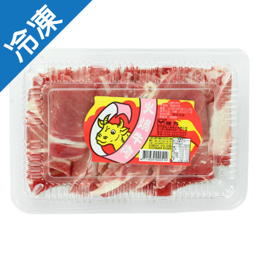 雅方牛肉片180g【愛買冷凍】