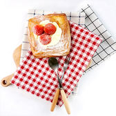 【BlueCat】美食攝影日棉麻 拍照背景 桌布 桌墊 隔熱墊 桌巾 餐桌布