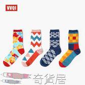 夏季日繫原宿民族風歐美潮男女運動中長筒滑板街頭個性情侶棉襪子