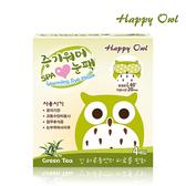 快樂貓頭鷹SPA眼罩綠茶4入【康是美】
