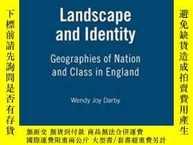 二手書博民逛書店Landscape罕見And IdentityY364682 Wendy Joy Darby Berg Pub