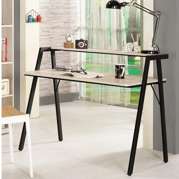 【森可家居】塔利斯3.5尺書桌 8CM879-6 工作桌 木紋質感 北歐工業風