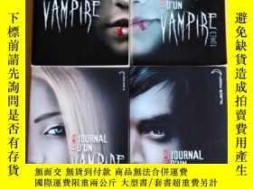 二手書博民逛書店法文原版罕見吸血鬼日記 Journal d un vampire.1-4冊 近2千頁 .L.J.SmithY7