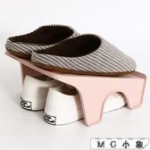 鞋子收納神器鞋盒雙層簡易架收納盒