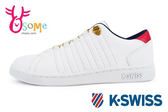 K-Swiss Lozan III休閒鞋 女鞋 皮革 經典 運動鞋 C9942#白紅◆OSOME奧森鞋業