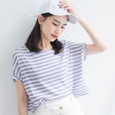 IN' SHOP可愛休閒條紋配色T恤-共3色【KT220870】
