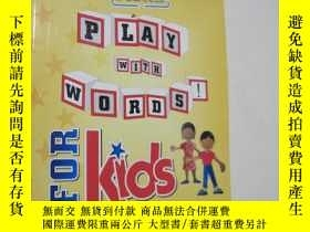 二手書博民逛書店MORE罕見PLAY WITH WORDS!FOR KIDSY6