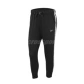Nike 長褲 Dri FIT Get Fit Fleece Training Trousers 黑 白 女款 棉褲 運動休閒 【PUMP306】 BV4951-010