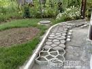 園藝用品工具強化小路造型水泥分割鵝卵石裝...