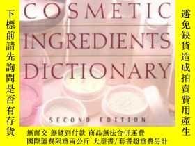 二手書博民逛書店Skin罕見Care And Cosmetic Ingredients Dictionary (milady s