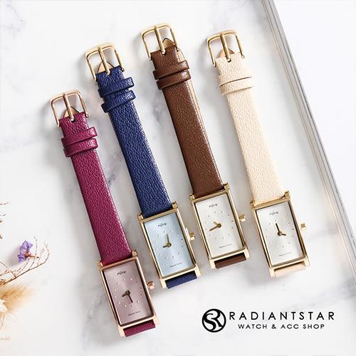 KETINY時空的旅人知性長方形真皮手錶【WNI059】璀璨之星☆