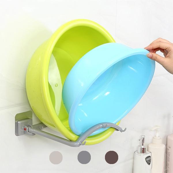 自動回彈浴室洗臉盆掛架 自動 浴室 洗臉 臉盆 掛架