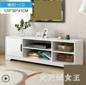 電視櫃 簡約客廳小戶型簡易高款臥室家用北歐電視機櫃 BT12663【大尺碼女王】