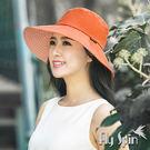防曬帽子-女款抗紫外線UV防潑水可摺疊收納高頂漁夫帽13SS-S066 FLY SPIN