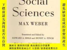 二手書博民逛書店The罕見Methodology Of The Social SciencesY307751 Max Webe