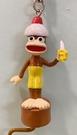 【震撼精品百貨】Curious George _好奇的喬治猴 ~日本喬治猴 吊飾/鑰匙圈-香蕉#01629