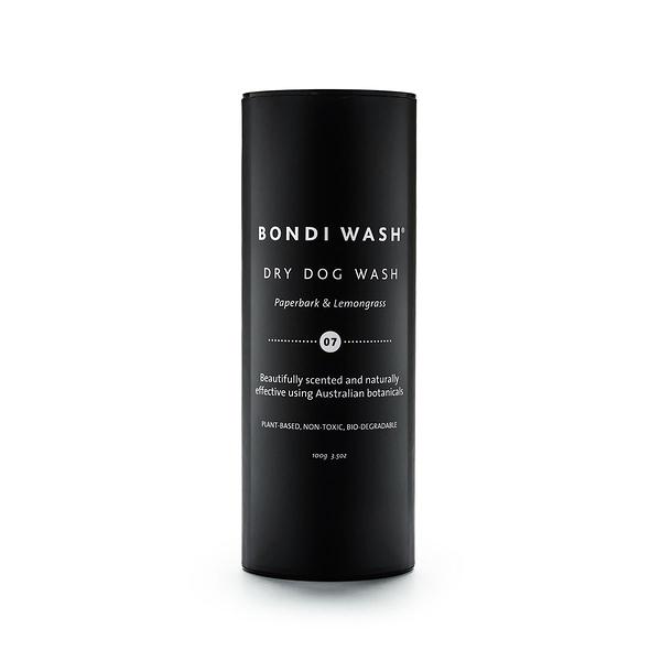 Bondi Wash Dry Dog Wash Paperbark & Lemongrass 100g, Dog Range 寵物系列 乾洗粉 白千層&檸檬草口味 兩件組