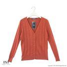 【INI】實穿日常、坑條織紋素色針織外套...
