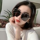 太陽鏡女防紫外線偏光眼鏡大圓臉網紅2021年新款時尚ins韓版墨鏡 一米陽光