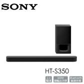 【限時加購價】SONY HT-S350 2.1聲道家庭劇院組 soundbar