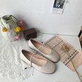 新款chic學生單鞋可愛娃娃鞋顯瘦一字扣平底圓頭小皮鞋女 黛尼時尚精品