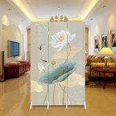 屏風 中式屏風隔斷時尚現代客廳移動簡約摺疊臥室酒店玄關摺屏小戶型 探索先鋒
