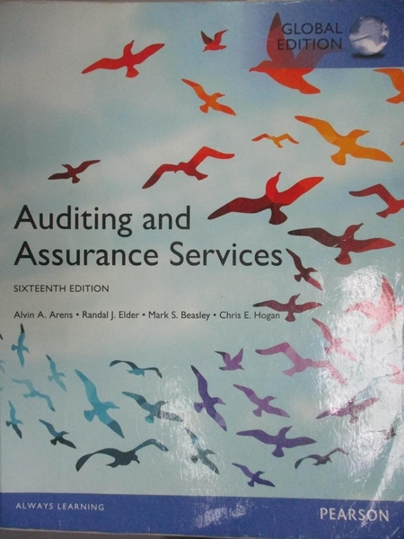 【書寶二手書T7/大學商學_PKS】Auditing and Assurance Services (GE)(16版)_