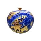 【收藏天地】鎏金歲月~金采豐盈聚寶盆 (27cm*27cm)  共三款可選