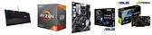 華碩 DUAL GTX1650 O4GD6 MINI+AMD R5 3600+華碩 PRIME B550-PLUS+ASUS TUF GAMING K7【刷卡含稅價】