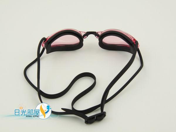 *日光部屋* arena (公司貨)/AGL-1700E-PNKB 競泳型/小鏡面泳鏡