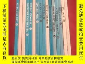 二手書博民逛書店ALL罕見ABOARD READING:With 24 flash cards(16本合售 精裝本)Y3354