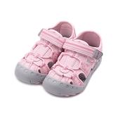 RED ANT 束繩護趾涼鞋 粉 中童鞋