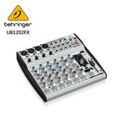 BEHRINGER UB1202FX專業級小型混音器(具高級麥克風前置放大器和Multi-FX處理器)