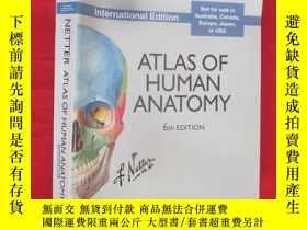 二手書博民逛書店Atlas罕見of Human Anatomy, Interna