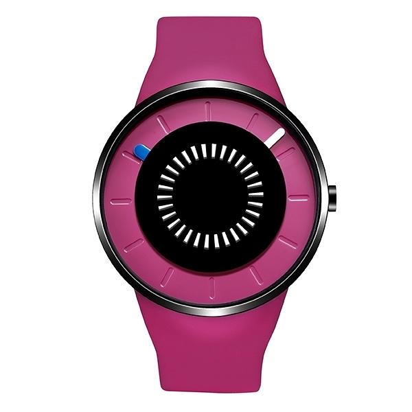 【odm】BOUNCING律動系列節奏閃燈設計腕錶-葡萄紫/DD162-03/台灣總代理公司貨享兩年保固