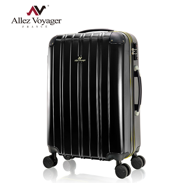 行李箱 旅行箱 奧莉薇閣 20吋登機箱PC硬殼 尊藏典爵系列 雅痞黑(贈送防塵套*1)