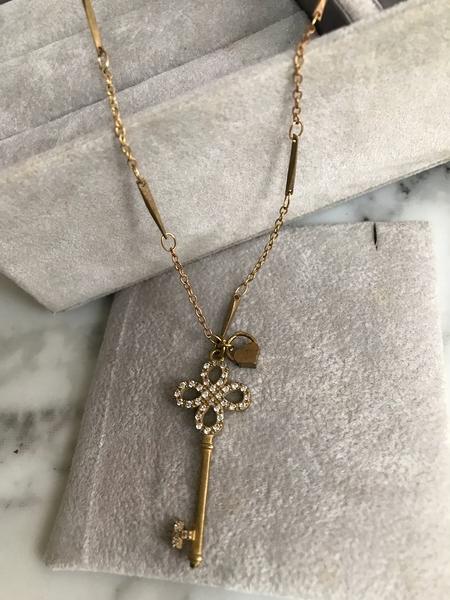 Tiffany 愛心鑰匙項鍊心型愛情時尚設計部落客女神時尚新款搭配手工流星鍊條長項鍊經典必備款