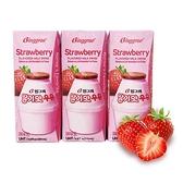 【南紡購物中心】Binggrae- 草莓牛奶(保久調味乳) 200ML*24入/箱