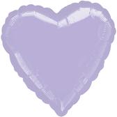 18吋愛心鋁箔氣球(不含氣)-薰衣紫