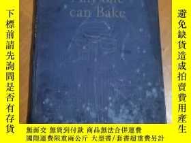 二手書博民逛書店英文原版1929老版《Any罕見one can Bake(西點制作》Y13244 Royal baking p