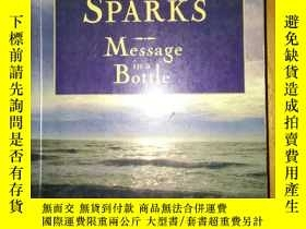 二手書博民逛書店NICHOLAS罕見SPARKS:MESSAGE IN A BO