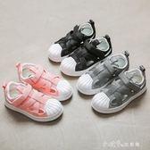 兒童夏季鏤空板鞋貝殼頭運動鞋韓版網鞋透氣 小確幸生活館