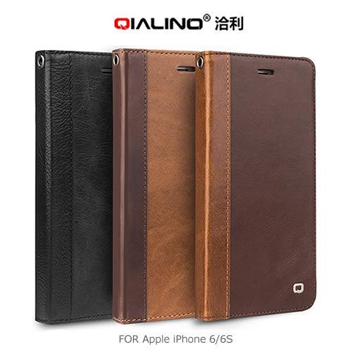 摩比小兔~ QIALINO 洽利 Apple iPhone 6 / 6S (Plus)  西部牛仔皮套 保護套