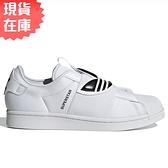 【現貨】ADIDAS SUPERSTAR SLIP-ON 女鞋 繃帶鞋 休閒 皮革 貝殼頭 經典 白 黑【運動世界】GZ8399