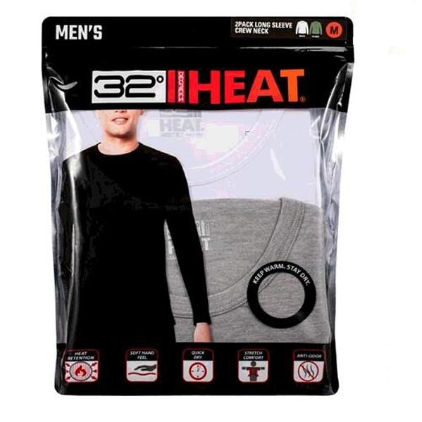 [COSCO代購] W1307814 32 Degrees 男保暖衣兩件組