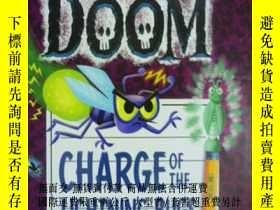 二手書博民逛書店英文原版罕見少兒繪本 The Notebook of Doom:
