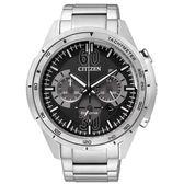 CITIZEN星辰Eco-Drive光動能究級悍將三眼計時腕錶*CA4120-50E 公司貨 原廠保固兩年