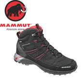 【MAMMUT 瑞士 男款 Fernow Mid GTX《黑》】3020-05630/中筒/登山健行鞋/多功能鞋★滿額送
